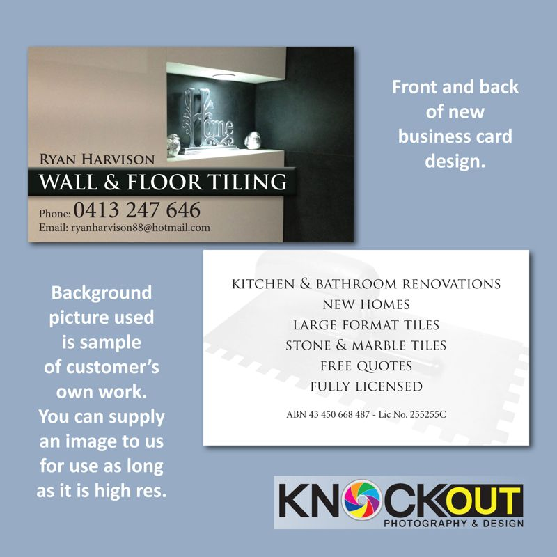 Knockout Photography & Design :: Business Cards